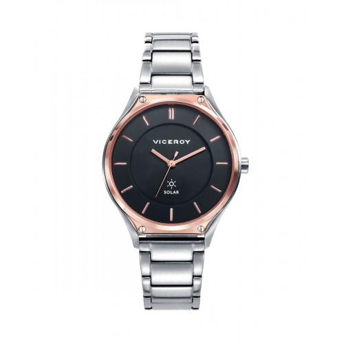 Reloj para chica Viceroy solar con brazalete de acero