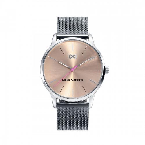 Reloj para chica Mark Maddox con brazalete de malla gris