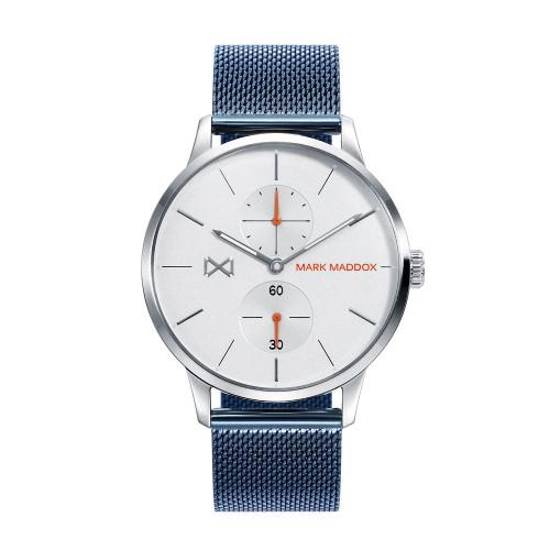 Reloj Chico Mark Maddox Brazalete Malla Azul
