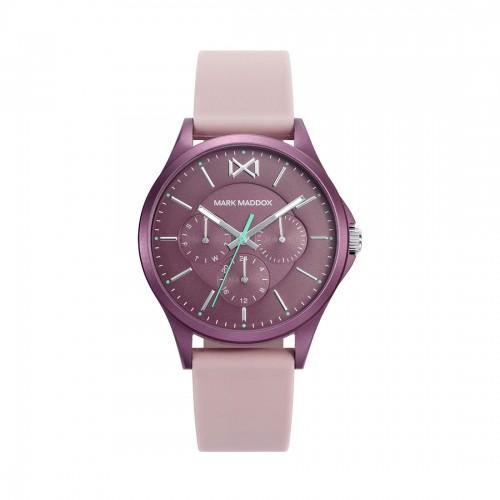 Reloj para chica Mark Maddox rosa con correa de goma