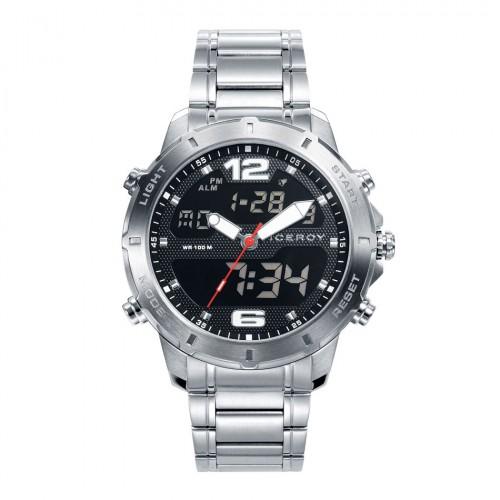 Reloj Viceroy Analógico Digital Brazalete Acero
