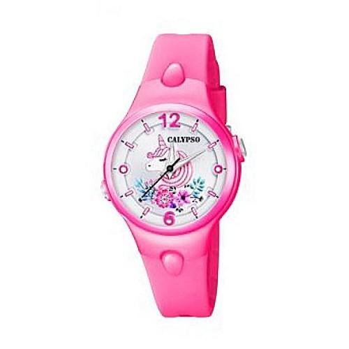 Reloj Calypso Unicornio Correa Rosa