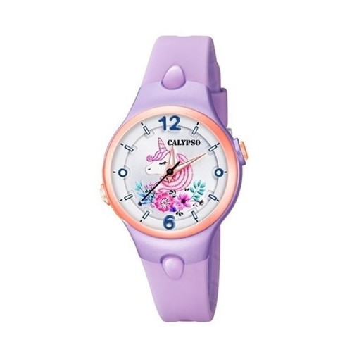 Reloj Calypso Unicornio Correa Lila