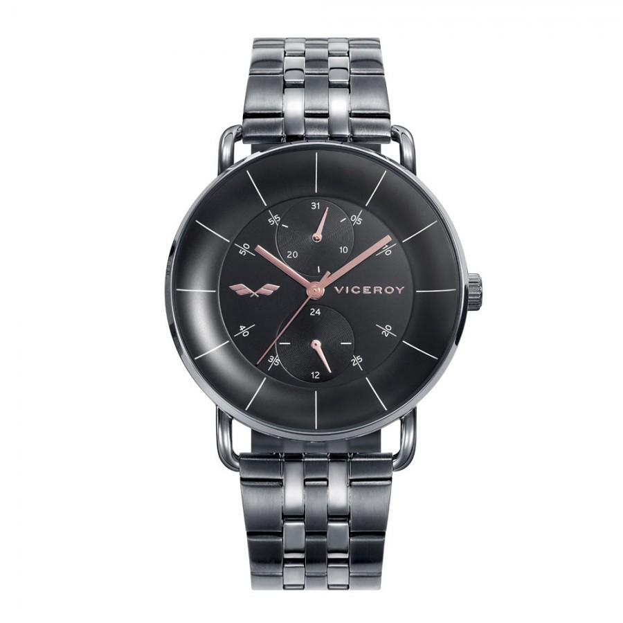 Reloj Viceroy gris Fernando Alonso con brazalete de acero