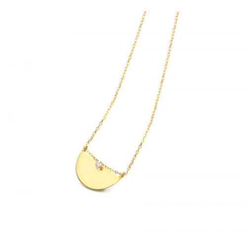 Colgante Oro LeCarré Abanico Diamante