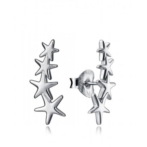 Pendientes Plata Viceroy Estrellas