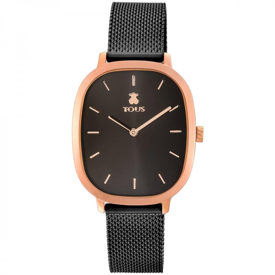 Reloj Tous Heritage Cuadrado Brazalete Negro