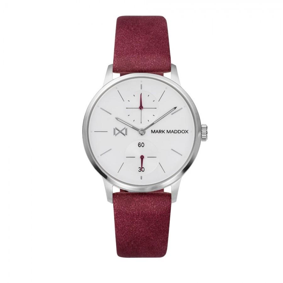 Reloj para chica Mark Maddox con correa roja