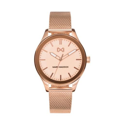 Reloj para chica Mark Maddox dorado con brazalete de malla