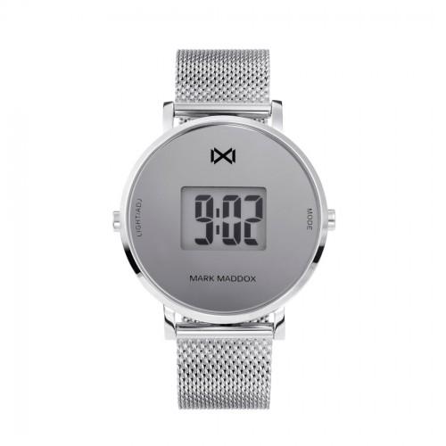 Reloj Mark Maddox Digital Brazalete Malla Acero