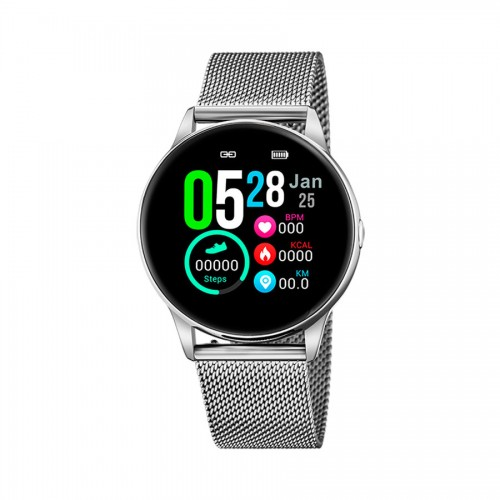 Smartwatch Lotus Brazalete Malla Acero