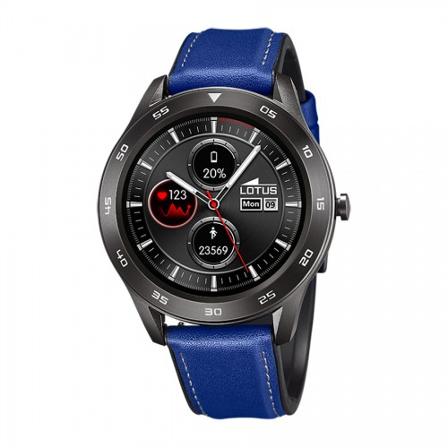 Smartwatch Lotus Correa Piel Azul