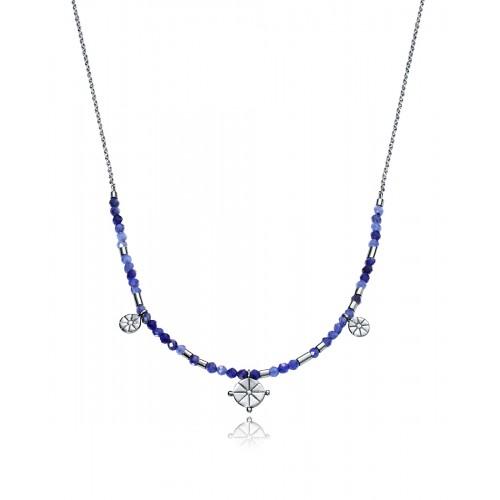 Gargantilla Plata Viceroy Piedras Azules
