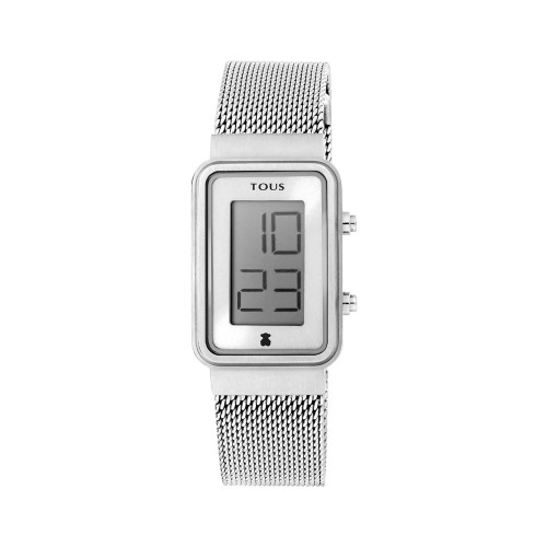 Reloj Tous Digital Digisquared Brazalete Malla