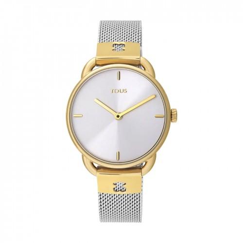 Reloj Tous Let Dorado Malla Acero