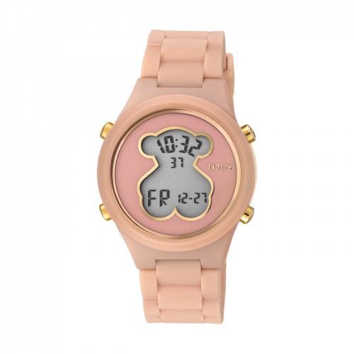 Reloj Tous D-Bear Teen Digital Goma Nude