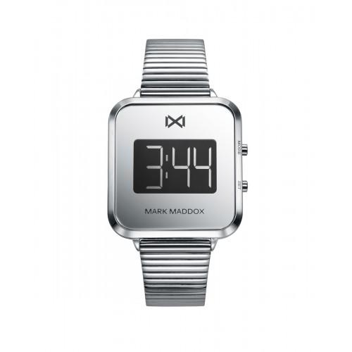 Reloj Mark Maddox Digital Brazalete Acero