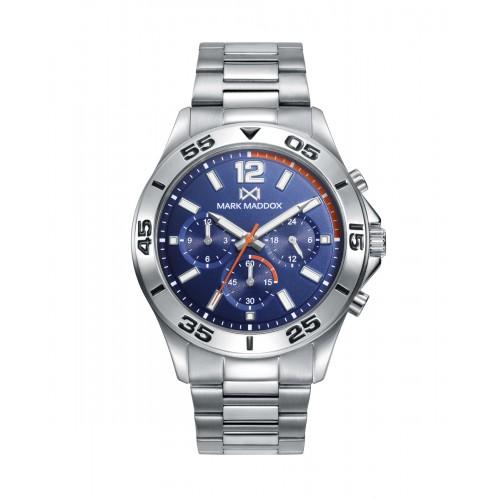 Reloj para chico Mark Maddox deportivo con brazalete de acero