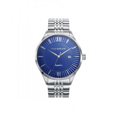 Reloj Viceroy azul con cristal de zafiro