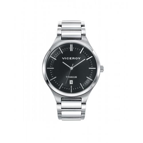 Reloj Viceroy chico de titanio con brazalete