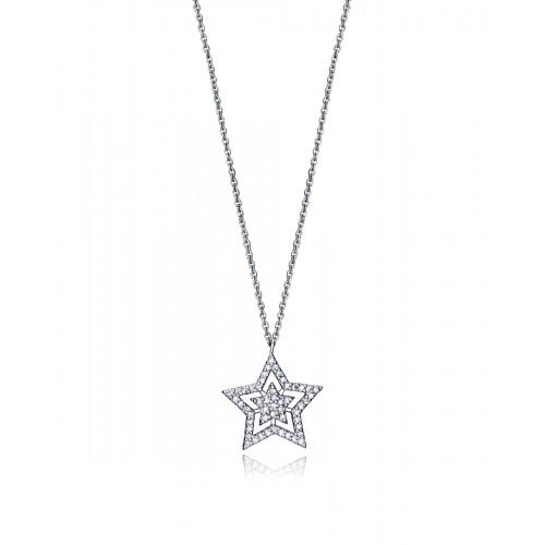 Colgante Viceroy Plata Estrella Circonitas
