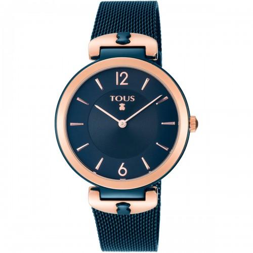 Reloj Tous S-Mesh azul con Brazalete de Malla