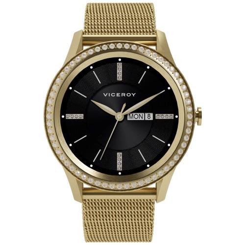 Reloj Smartwatch Chica Viceroy Dorado SmartPro Woman Brazalete Malla