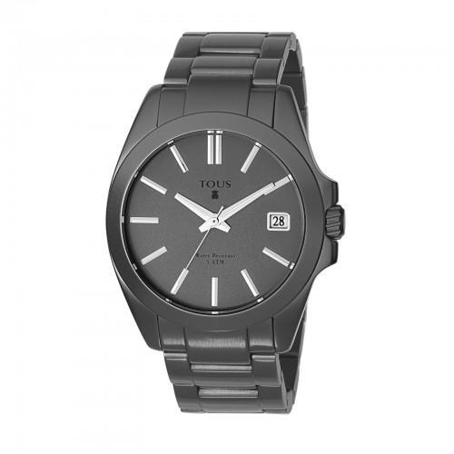 Reloj TOUS Drive Aluminio Gris