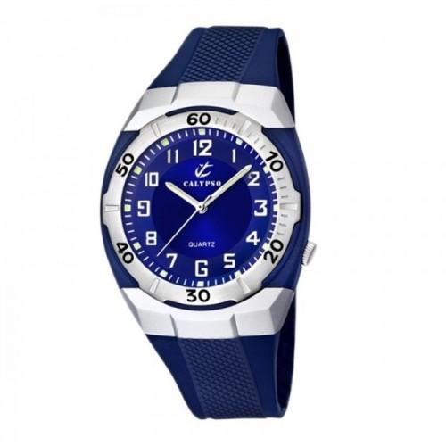 Reloj Calypso Azul Correa Goma
