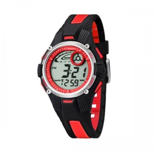 Reloj Calypso Digital Rojo Negro