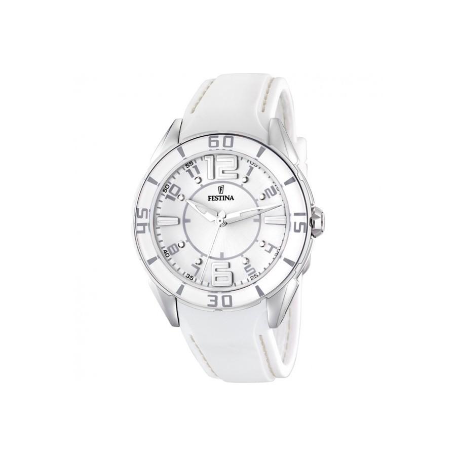 fa336dd0412a Reloj Chica Festina Goma Blanca F16492 1