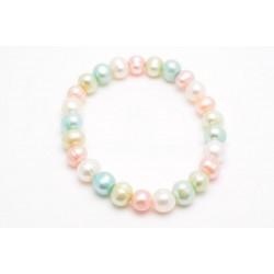 Pulsera perlas naturales