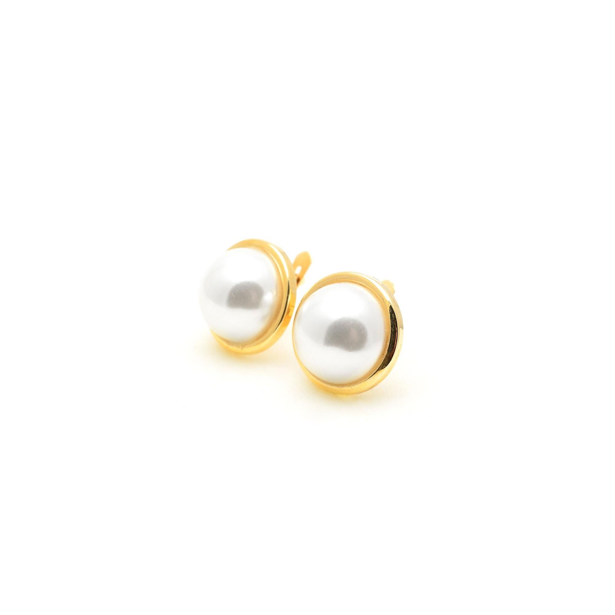 14abce398f11 Pendientes Oro Mujer Perla Japonesa