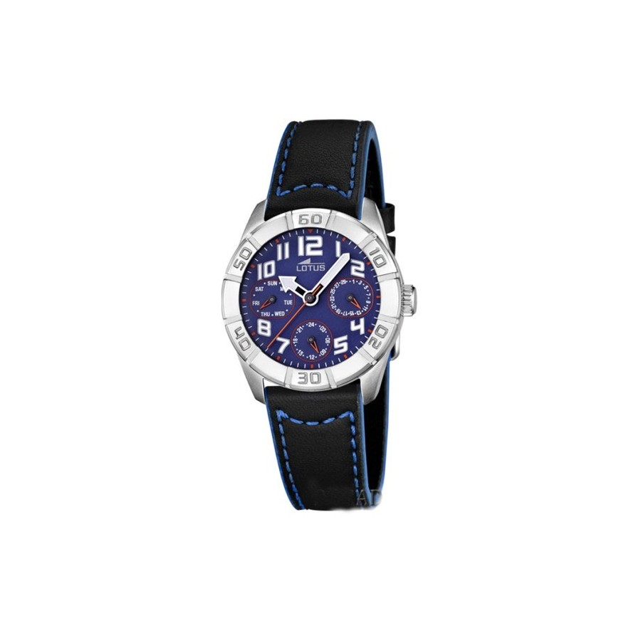 Reloj Lotus Deportivo Azul Correa