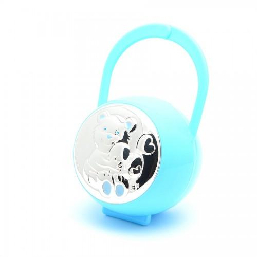 Portachupete Azul Osito