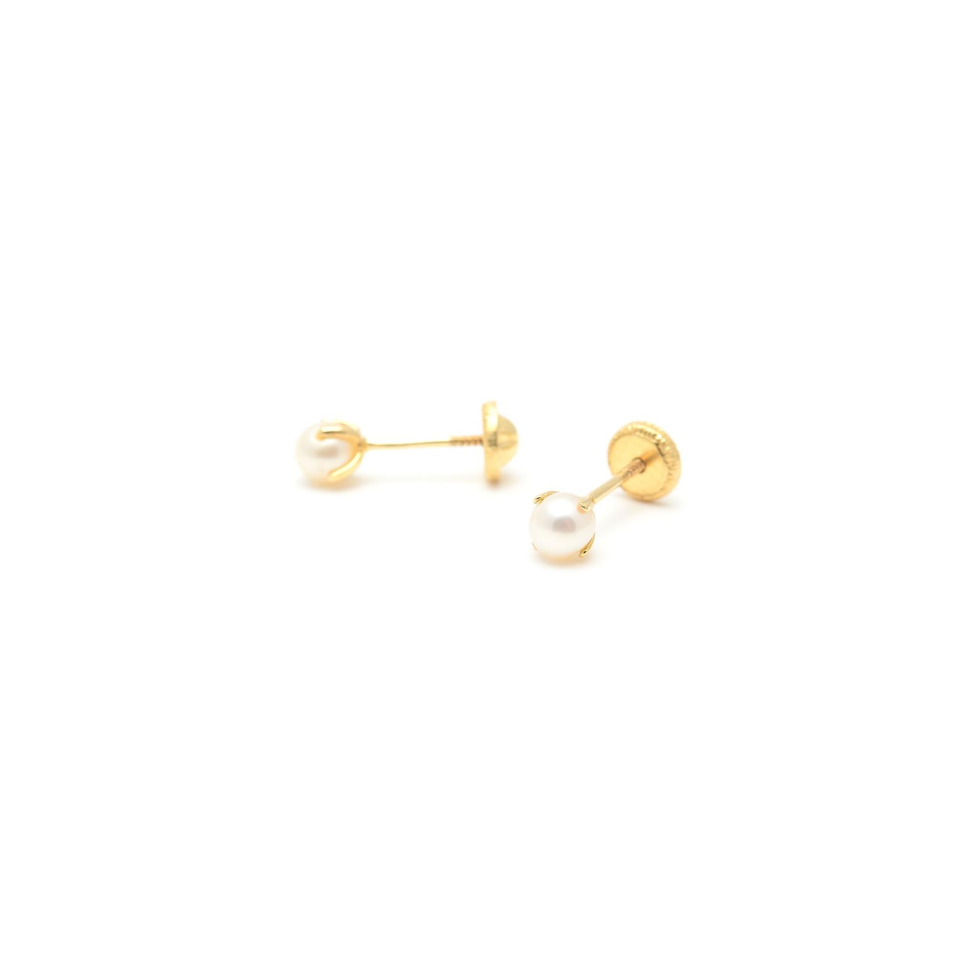03e485ef47a2 Pendientes Oro Perla · Pendientes Oro Perla ...
