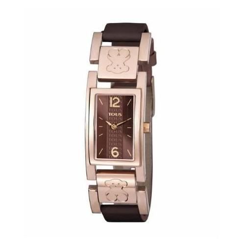 Reloj TOUS Bear Plate Dorado