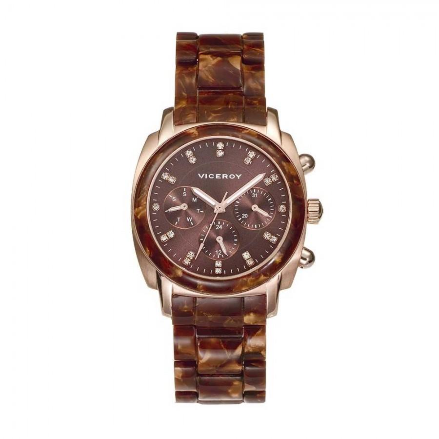 52e183c19a1d Reloj Chica Viceroy Dorado Marrón 47800-47