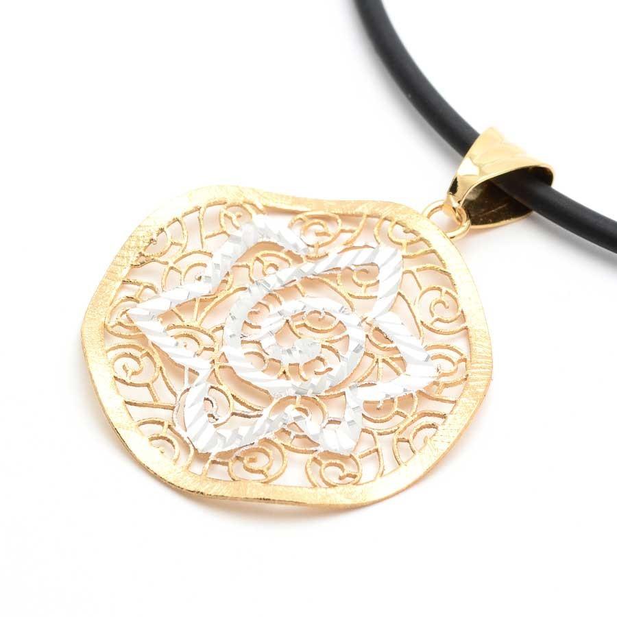 comprar online ff8ba f42d5 Colgante Oro Filigrana Estrella
