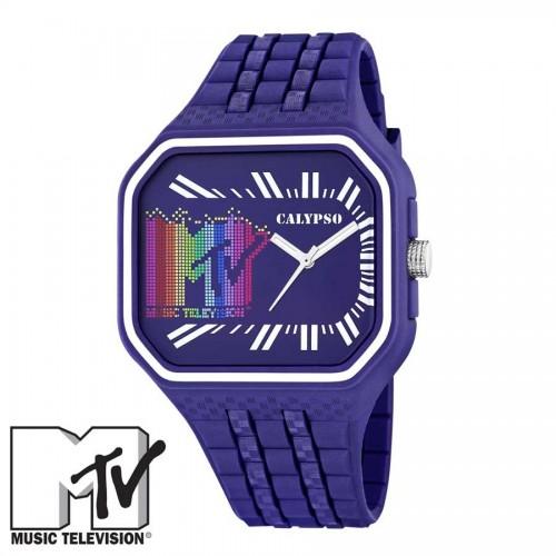 Reloj MTV Caucho Azul