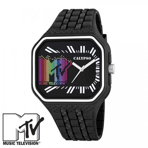 Reloj MTV Caucho Negro