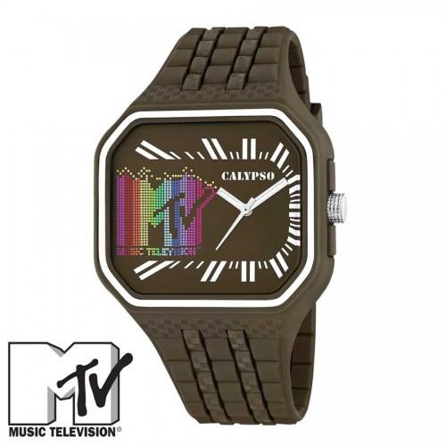 Reloj MTV Caucho Marrón