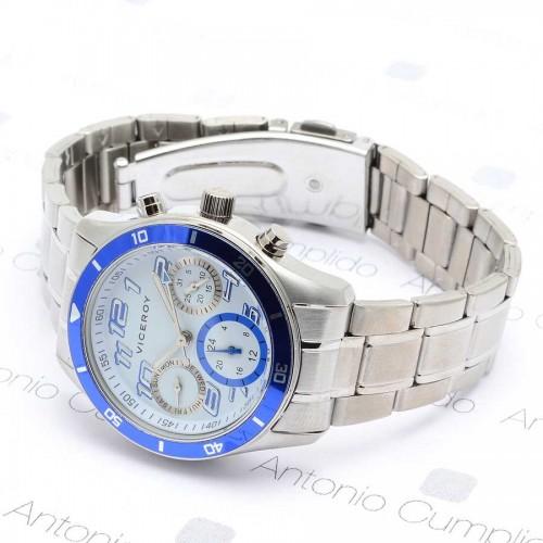 Reloj Viceroy Cadete Azul Multifunción