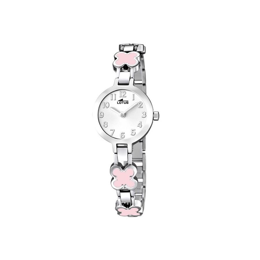 76fb80b9f781 Reloj Lotus Chica Nina Comunion Brazalete Rosa Acero 15828 2
