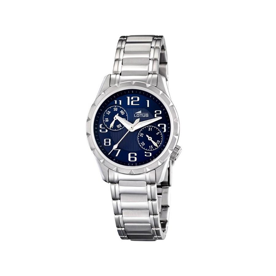 c68faf2f9ef8 Reloj Lotus Cadete Niño Comunión Azul Brazalete Acero 15658 8
