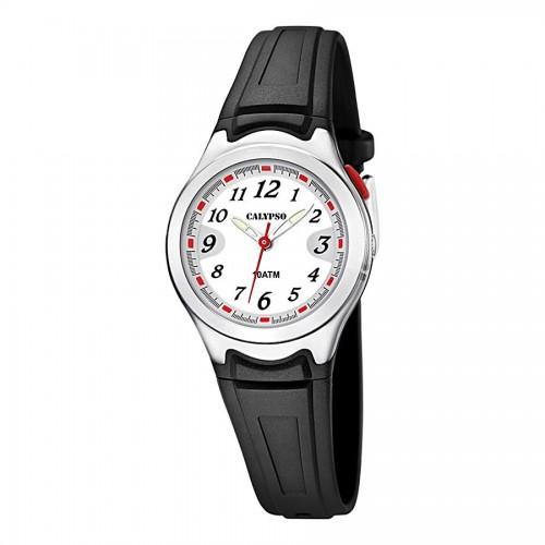Reloj Calypso Caucho Negro