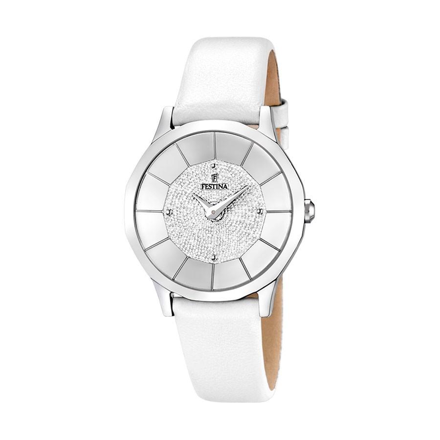 4283cd3ac065 Reloj Chica Festina Correa Blanca F16661 1