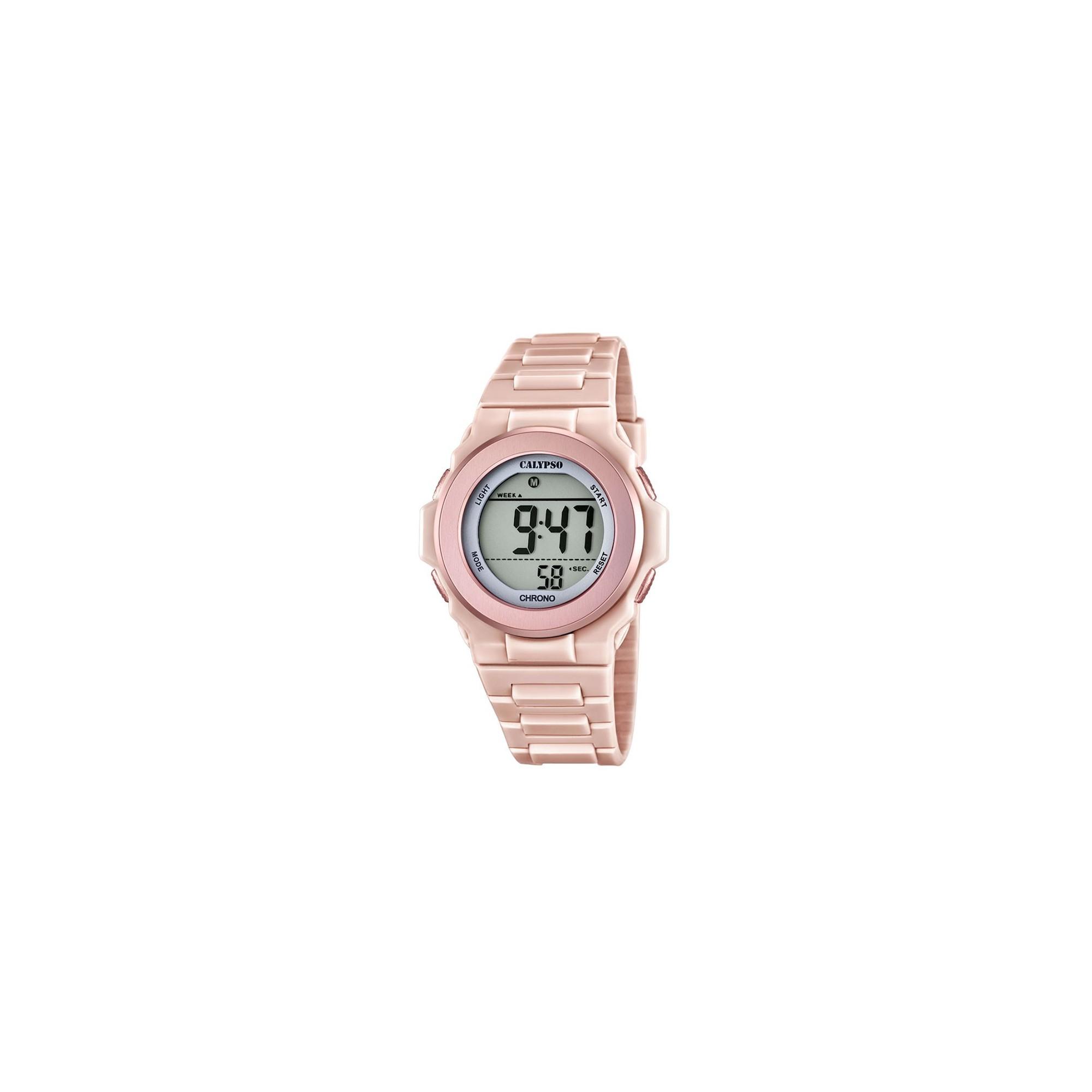 Reloj digital mujer goma