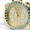 Reloj Viceroy Azul Brazalete Dorado