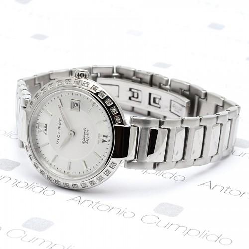 Reloj Viceroy Diamantes Acero